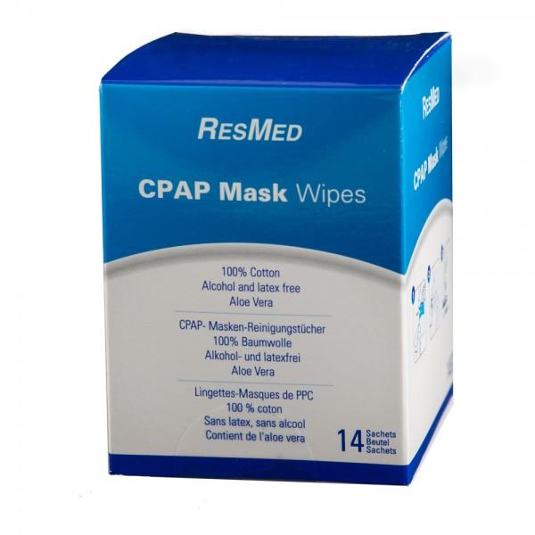 CPAP Masken Reinigungstücher 14 Stück