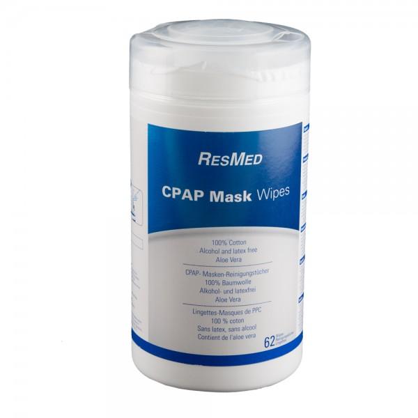CPAP Masken Reinigungstücher 62 Stück